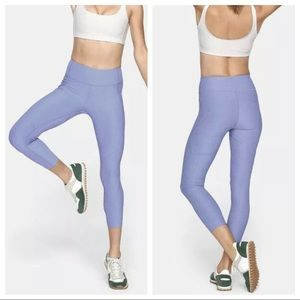 Outdoor Voices Blue Warm Up Leggings